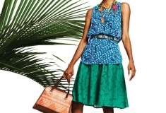 Lookbook: Duro Olowu for jcp collection - Look 14