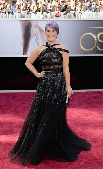 Kelly Osbourne in Tony Ward Couture