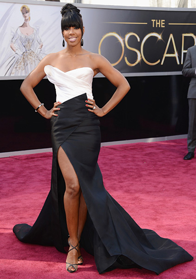 Kelly Rowland in Donna Karan