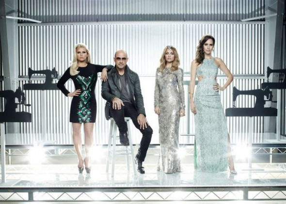 2013 NBC Fashion Star 2 with Jessica Simpson, John Varvatos, Nicole Richie, Louise Roe