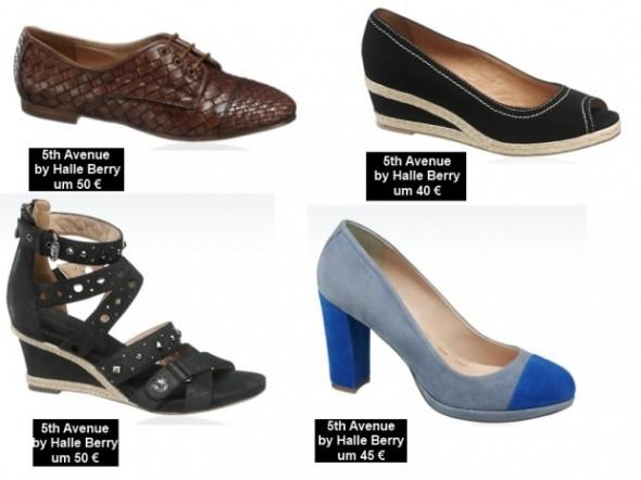 Halle Berry 5th Avenue shoe line