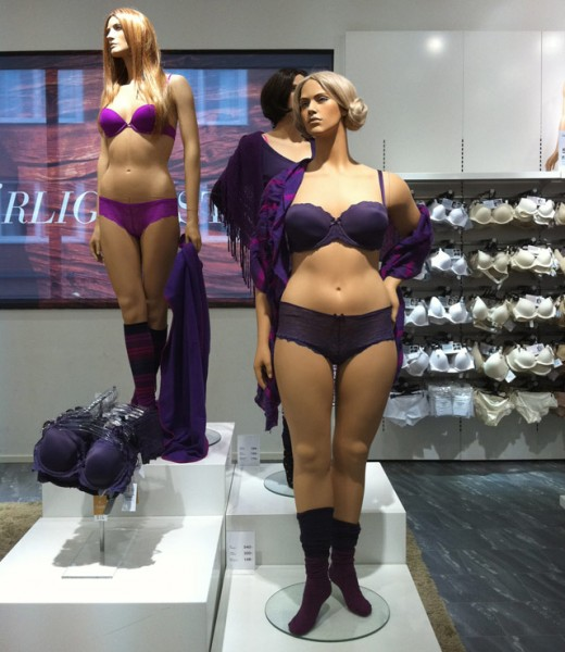 Ahlens Swedish full-figured mannequins