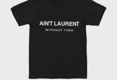 What's haute right now: Designer parody tees