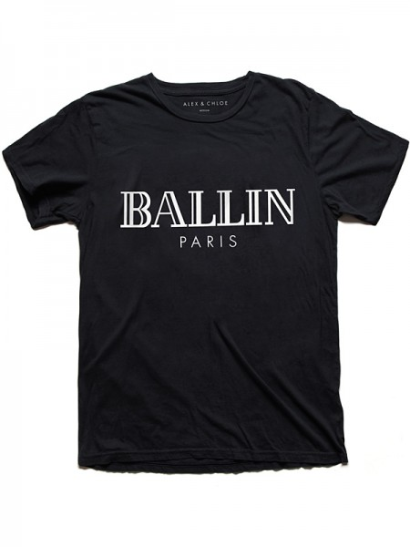 Alex & Chloe BALLIN IN PARIS T-SHIRT