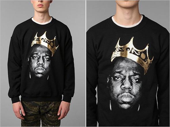 Blogger fave: Biggie King of NYC Crew Sweatshirt