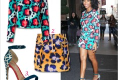 Get her haute look: Brandy in KENZO and Nicholas Kirkwood