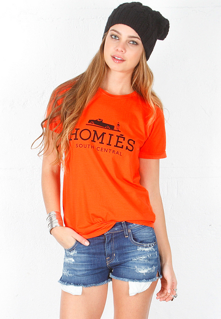 Brian Lichtenberg Homies South Central Tee in Orange