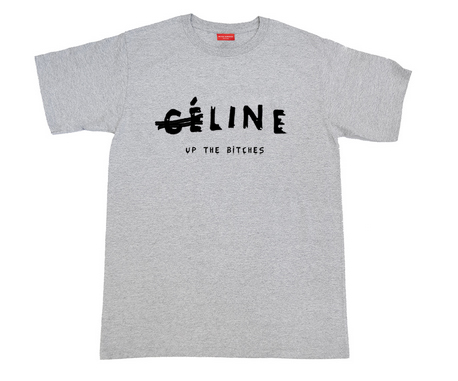 Ce Line Up The Bitches Tee - Grey