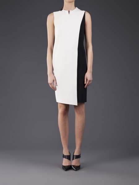 Cedric Charlier Sleeveless colorblock dress