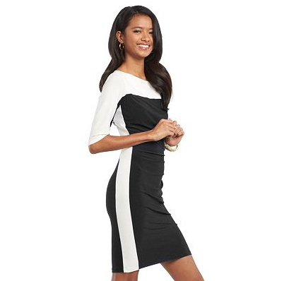 Chaps Colorblock Sheath Dress
