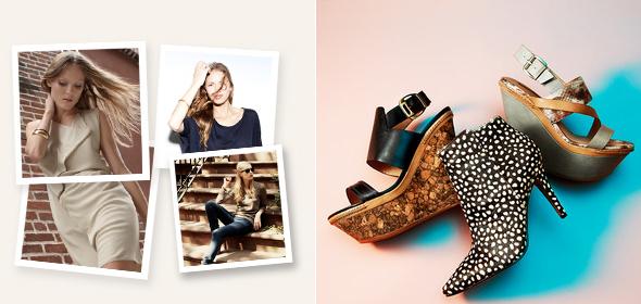 Gilt sales: Shoes by Modern Vintage & Rosegold
