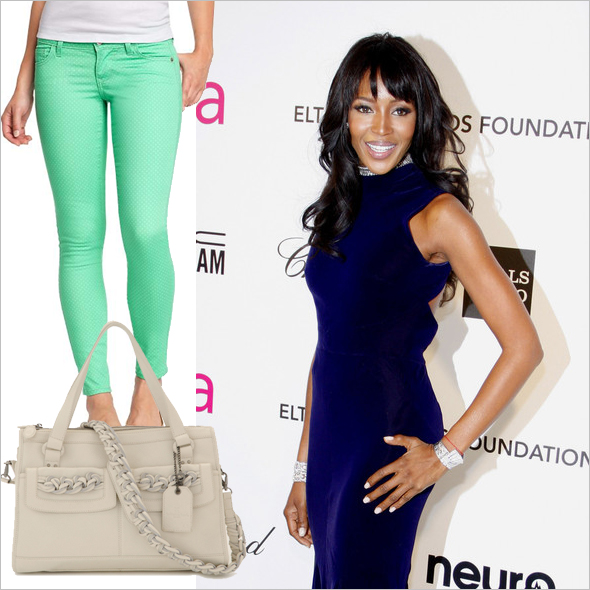 How to wear mint jeans, Win Katherine Kwei's Lulu Tote, Celebs who don't diet