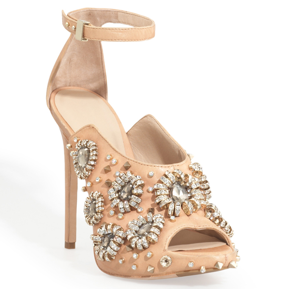 Rachel Roy Dal Embellished dress sandal with ankle strap