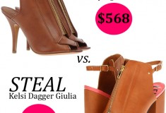 Splurge vs. Steal: Givenchy High-heeled sandals vs. Kelsi Dagger Giulia sandals