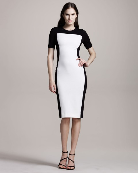 Stella McCartney Colorblock Jersey Dress