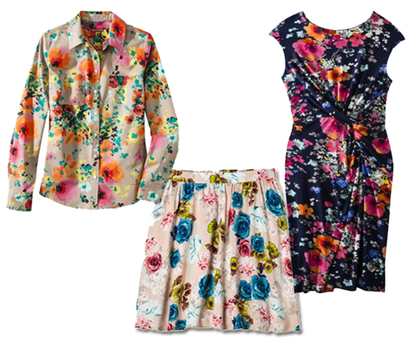 Target - Spring trend: floral print