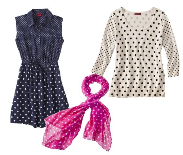 Target - Spring trend: polka dots