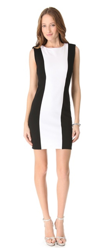 alice + olivia Alberta Colorblock Dress