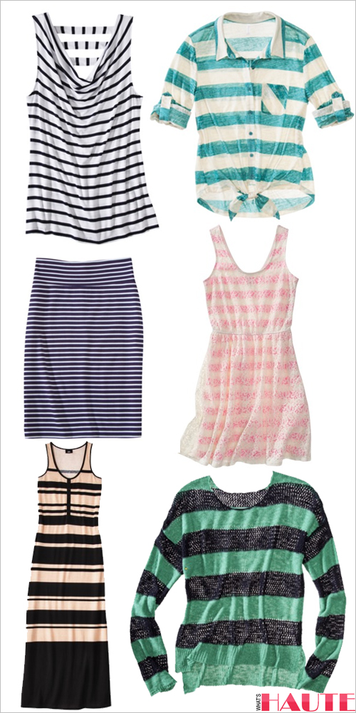 Target striped fashion