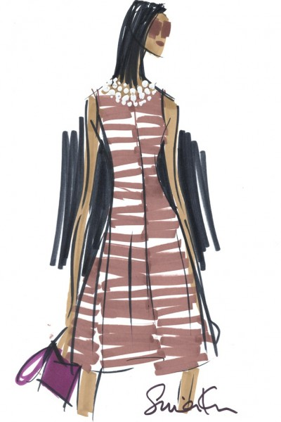 A dress from the Banana Republic Issa London collection