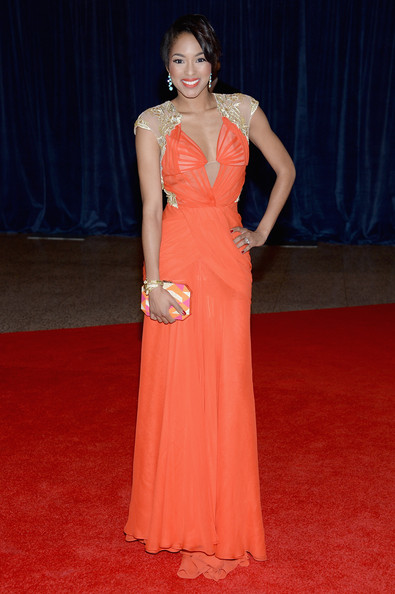 Alicia Quarles at the White House Correspondents' Association Dinner