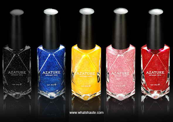 Azature Black Diamond Nail Polish Collection