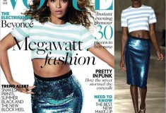 Cover girl: Beyoncé debuts on Vogue UK in Jonathan Saunders S/S 2013