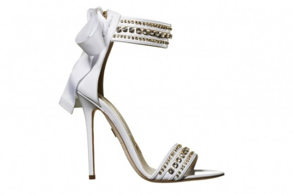 Brian Atwood bridal shoes Nausica