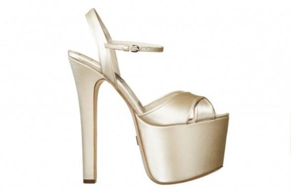 Brian Atwood bridal shoes Sasha