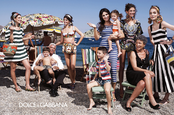 Dolce & Gabbana Spring 2013 ad campaign
