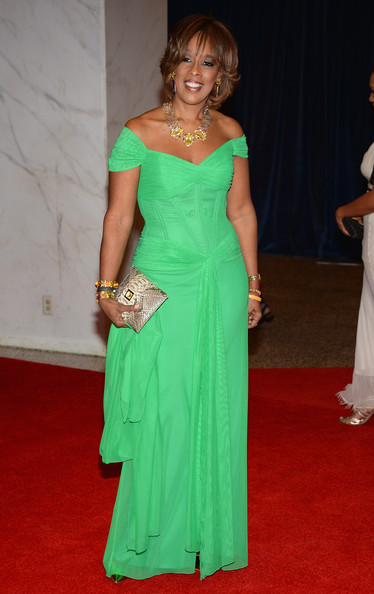 Gayle King at the White House Correspondents' Association Dinner