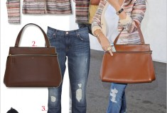 Get her haute look: Kourtney Kardashian in Love Sam, Céline & Jean-Michel Cazabat