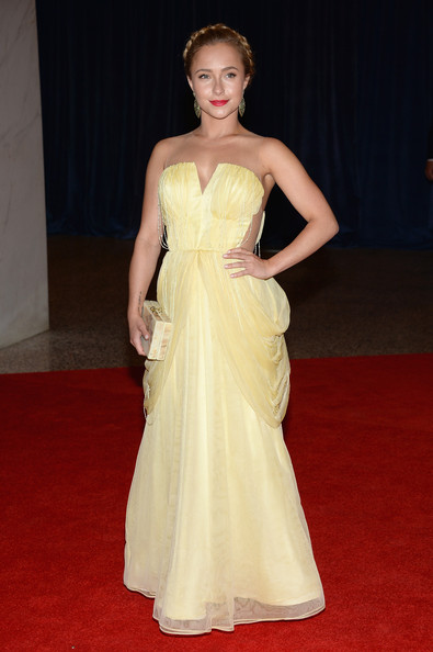 Hayden Panettiere at the White House Correspondents' Association Dinner