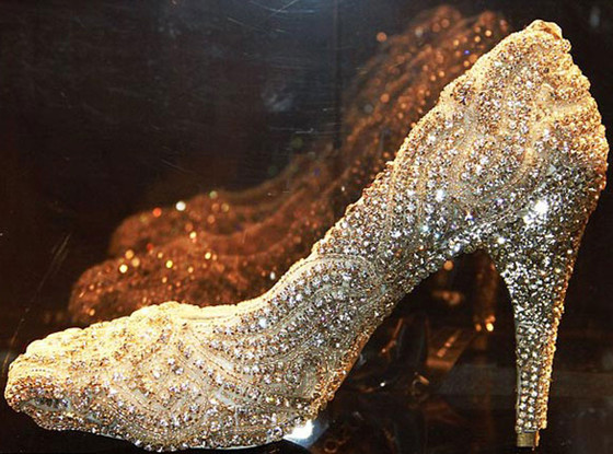 Kathryn Wilson most expensive shoes in the world