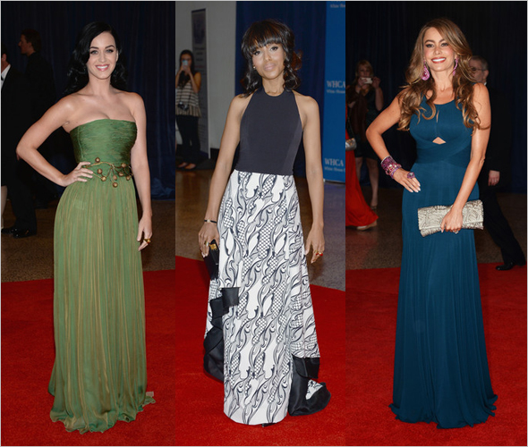 Best and worst dressed at the 2013 White House Correspondents' Association Dinner Katy Perry, Kerry Washington & Sofia Vergara