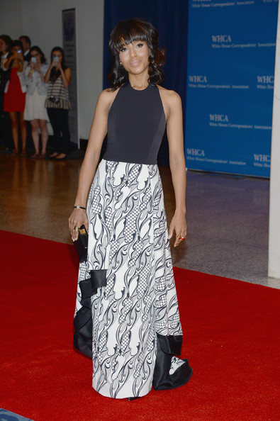 Kerry Washington at the White House Correspondents' Association Dinner
