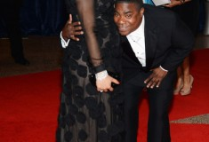 Megan Wollover and actor Tracy Morgan at the White House Correspondents' Association Dinner