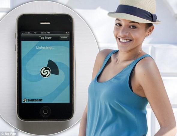 Shazam fashion app