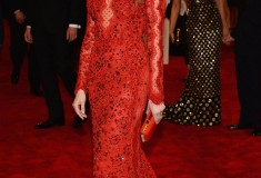 "Amber Heard ""PUNK: Chaos To Couture"" Costume Institute Gala"