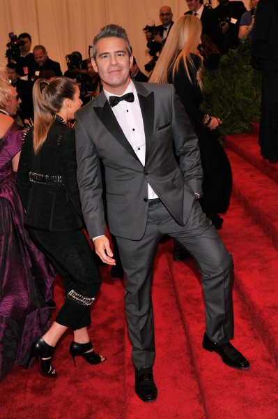 "Andy Cohen ""PUNK: Chaos To Couture"" Costume Institute Gala"