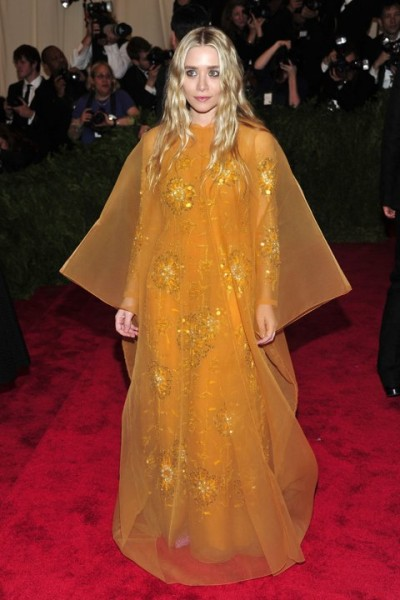"Ashley Olsen at The Metropolitan Museum of Art's Costume Institute benefit celebrating ""PUNK: Chaos to Couture"""
