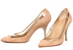 Haute buy: Donald J Pliner 'Bella' Suede And Vinyl Pump