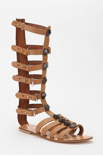 Ecote Tall Cone Stud Caged Sandal