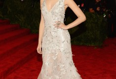 "Emmy Rossum ""PUNK: Chaos To Couture"" Costume Institute Gala"