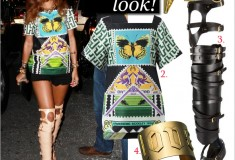 Get her haute look: Rihanna in Mary Katrantzou, Tom Ford and Jennifer Fisher