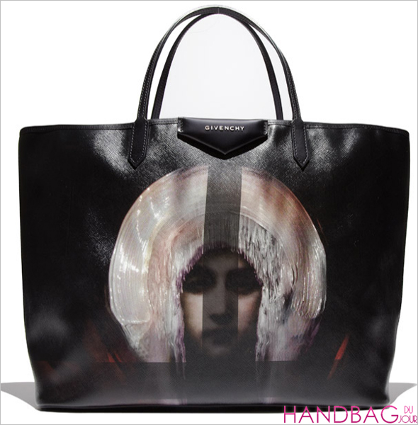 Givenchy Antigona Madonna-Print Large Shopper Bag