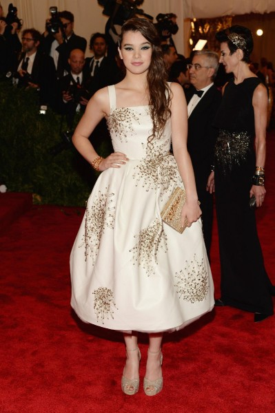 "Hailee Steinfeld ""PUNK: Chaos To Couture"" Costume Institute Gala"