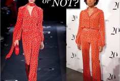 Haute or not: Solange Knowles in DvF Fall 2013