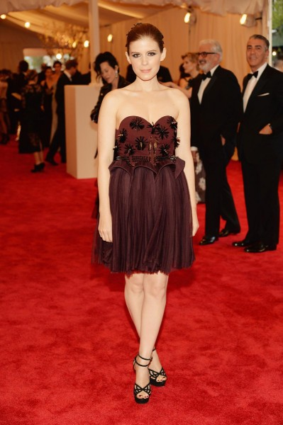 "Kate Mara ""PUNK: Chaos To Couture"" Costume Institute Gala"