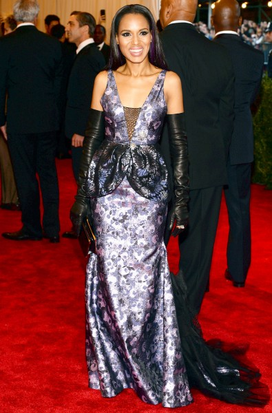 Kerry Washington in Vera Wang